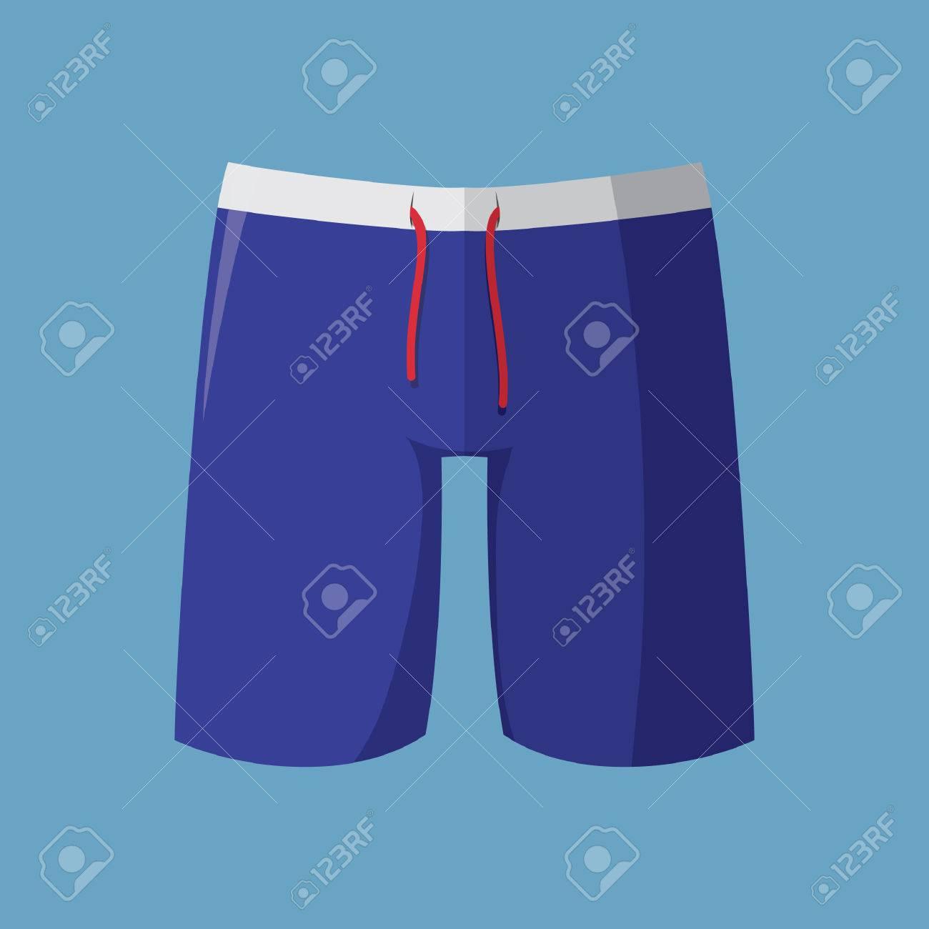 Pantalones De Natacion Ilustraciones Vectoriales Clip Art Vectorizado Libre De Derechos Image 52810218