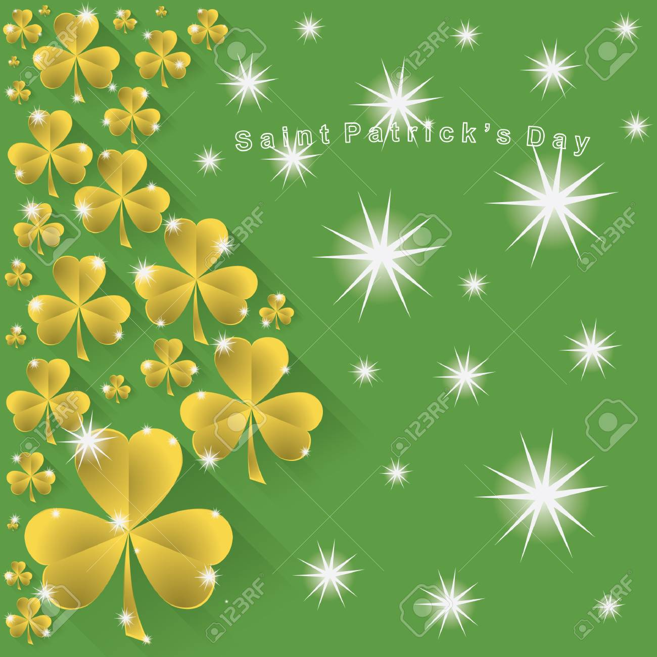 Saint Patrick S Day Wallpaper Royalty Free Cliparts Vectors And
