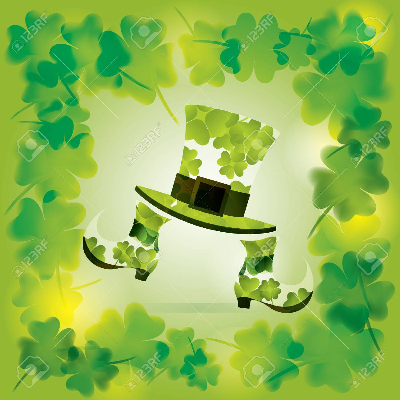 St Patrick S Day Wallpaper Royalty Free Cliparts Vectors And