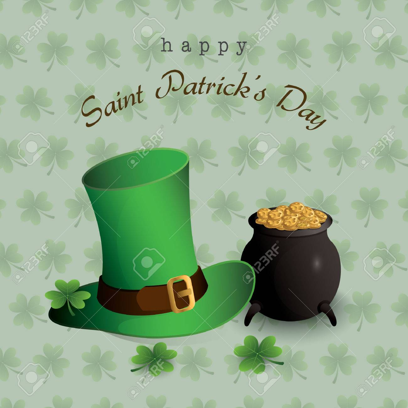 Happy St Patrick S Day Wallpaper Royalty Free Cliparts Vectors