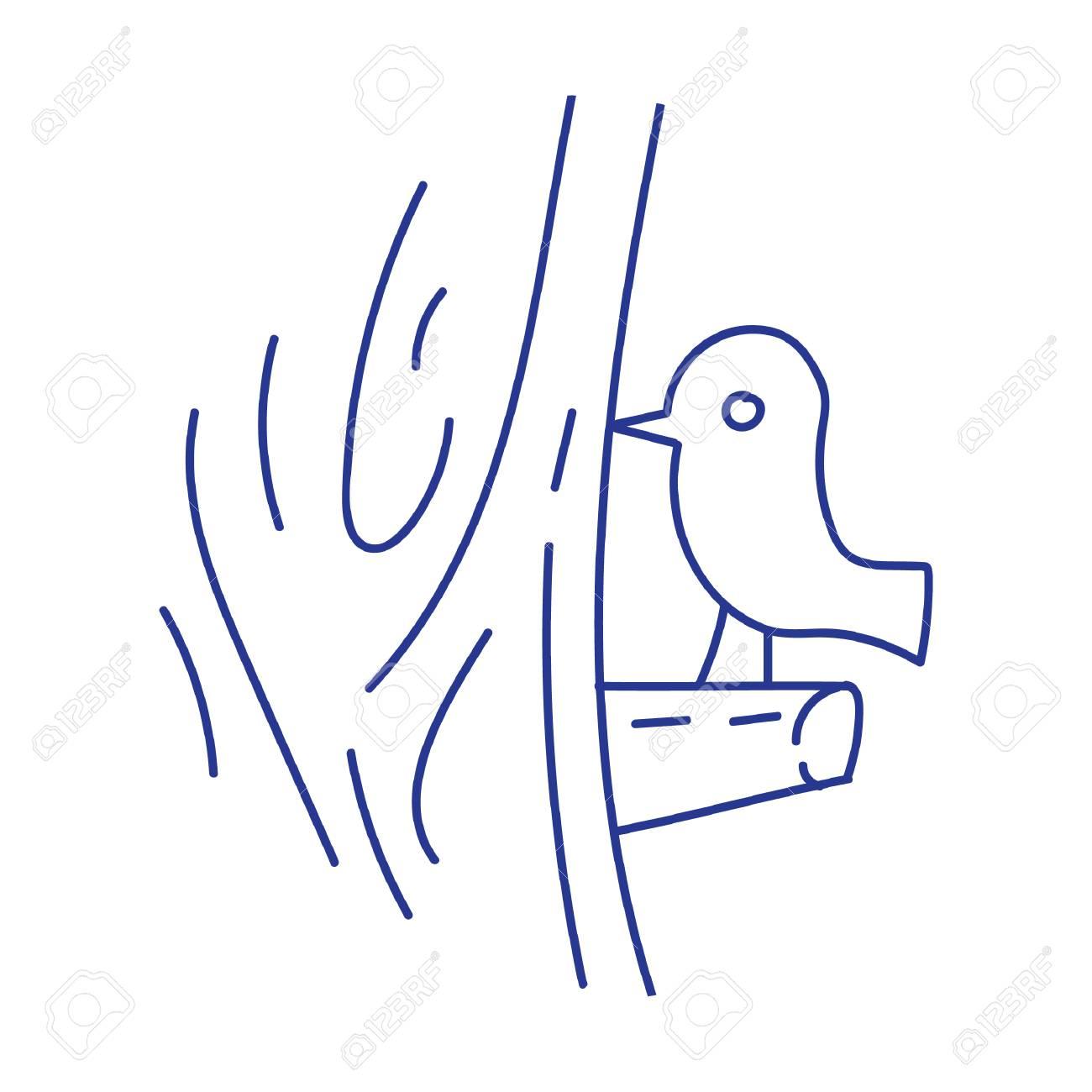 bird on tree - 53190223