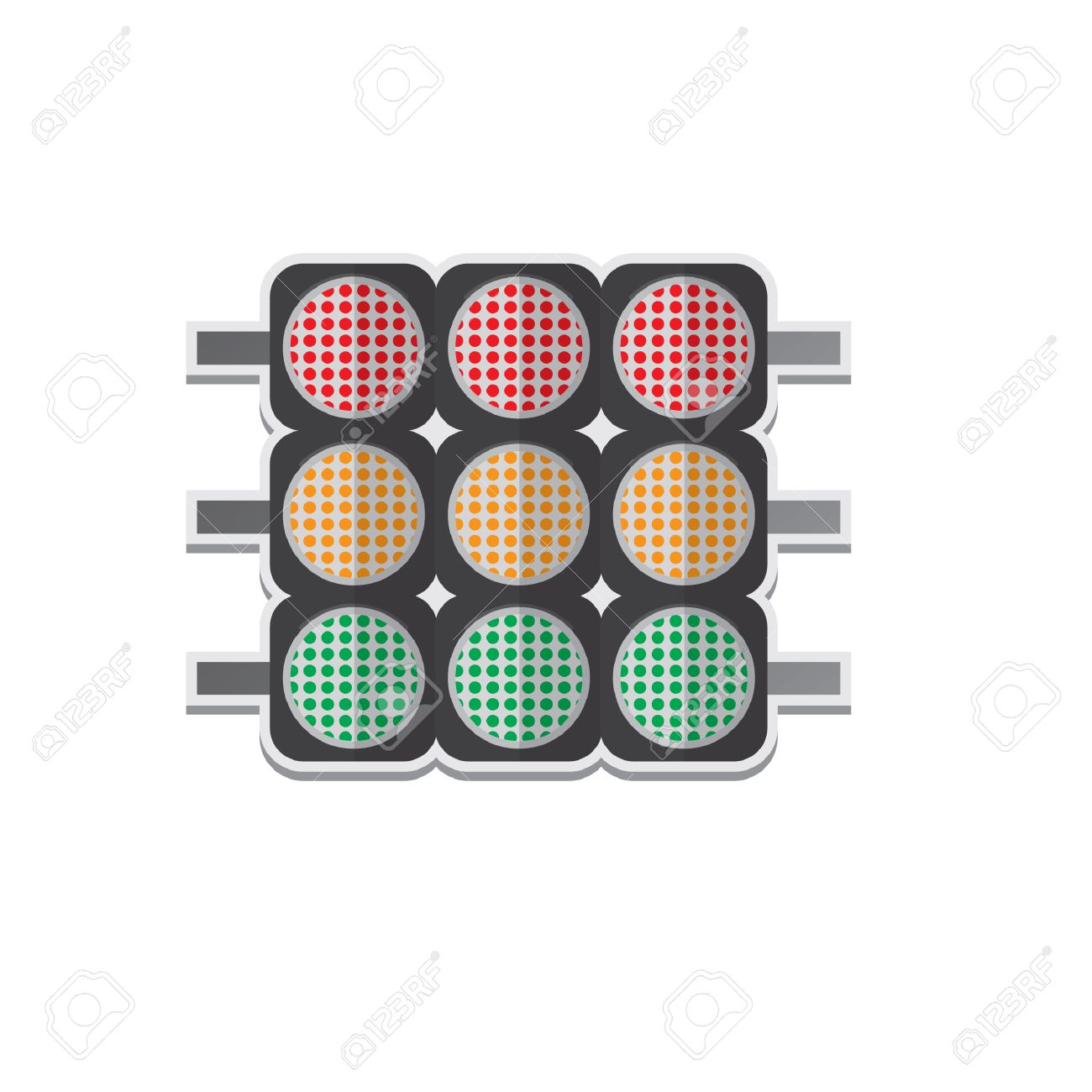 Race track lights royalty free cliparts vectors and stock race track lights stock vector 53261544 aloadofball Gallery
