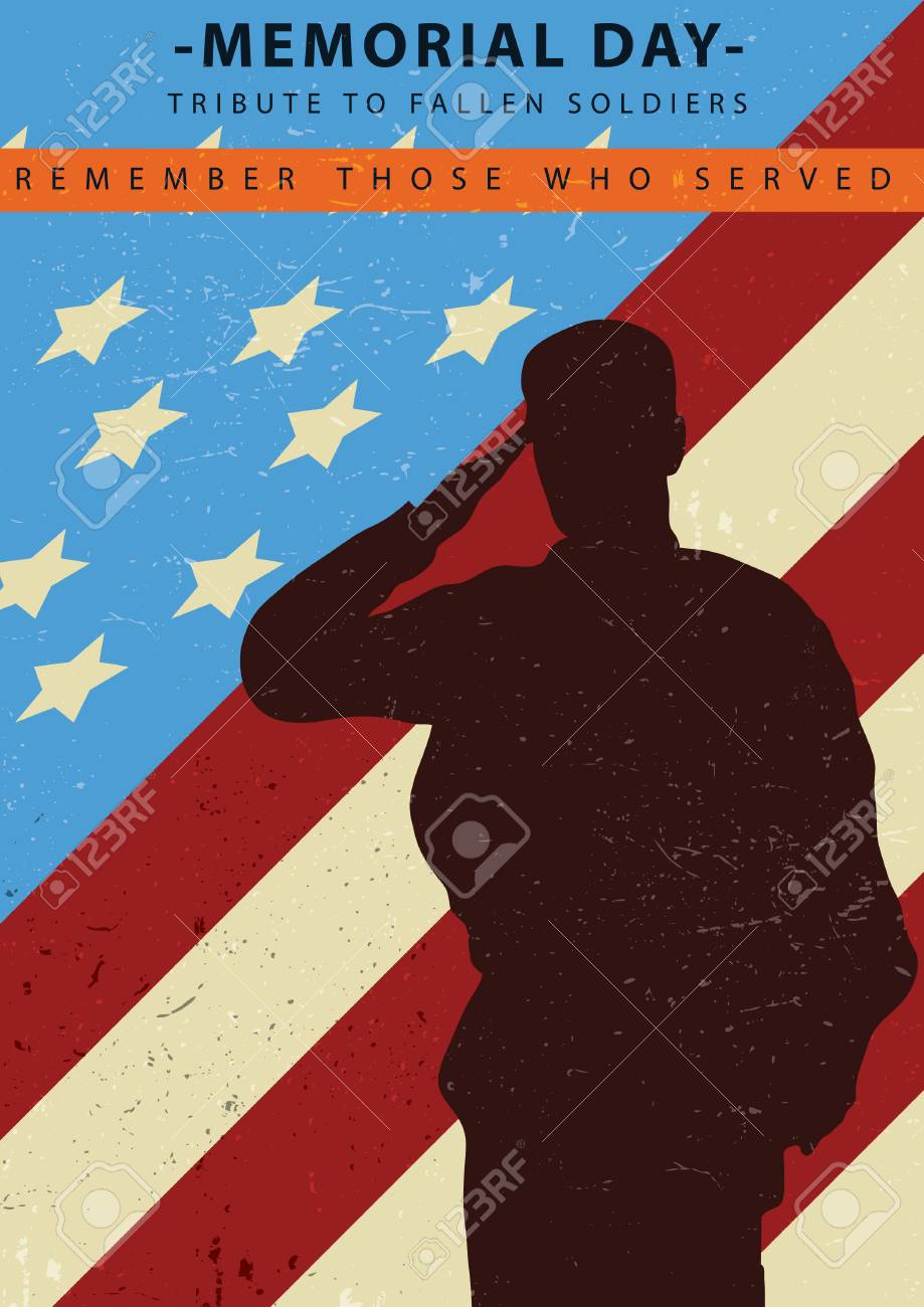 memorial day poster royalty free cliparts vectors and stock