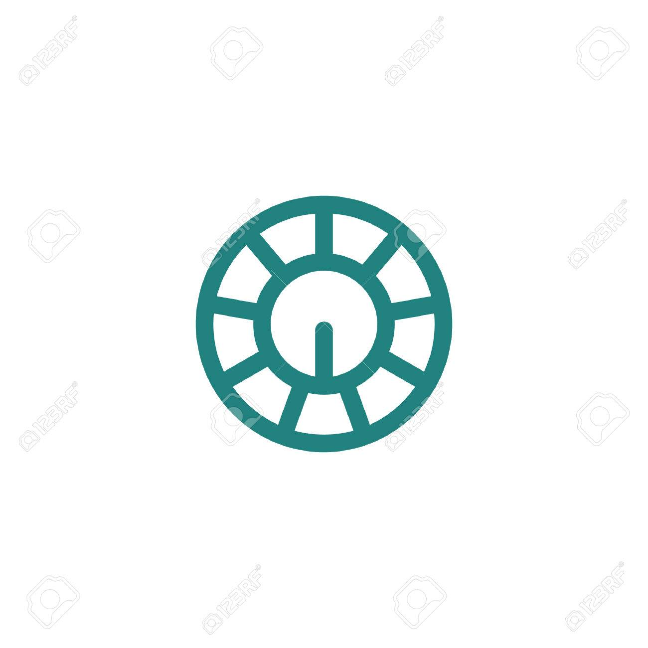 Oscillator Knobs Icon Royalty Free Cliparts, Vectors, And Stock ...