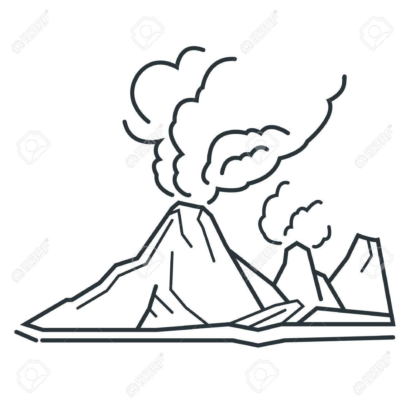 volcano - 53765427