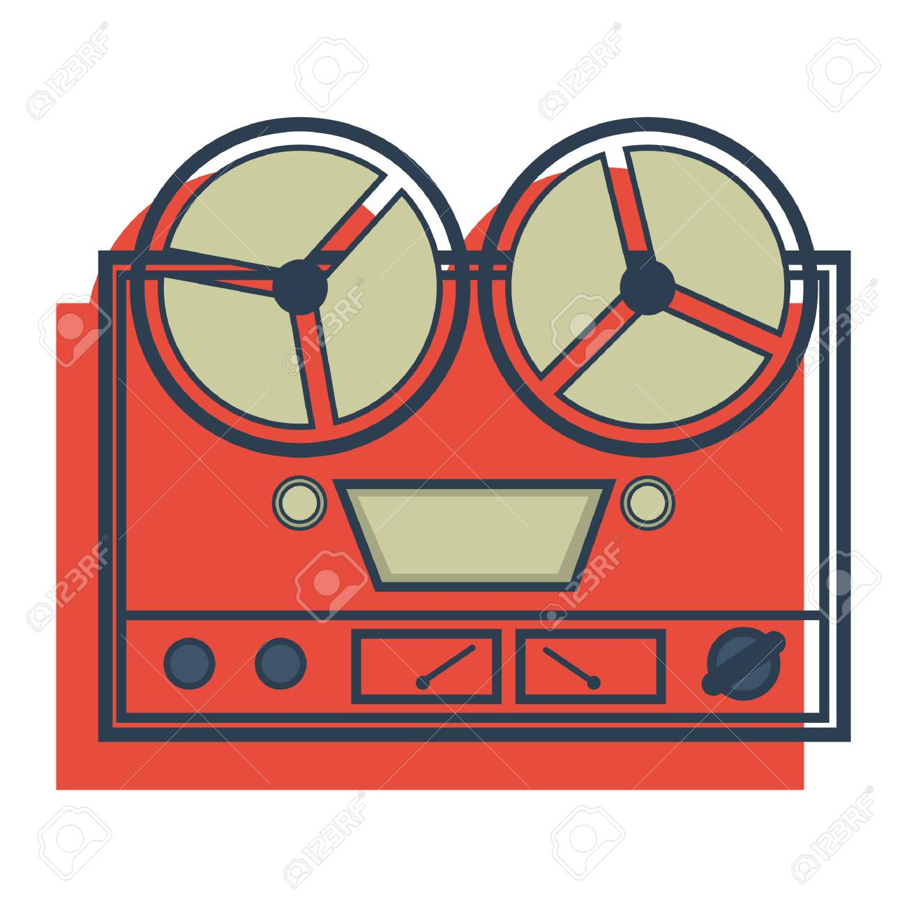 reel tape recorder - 106670579