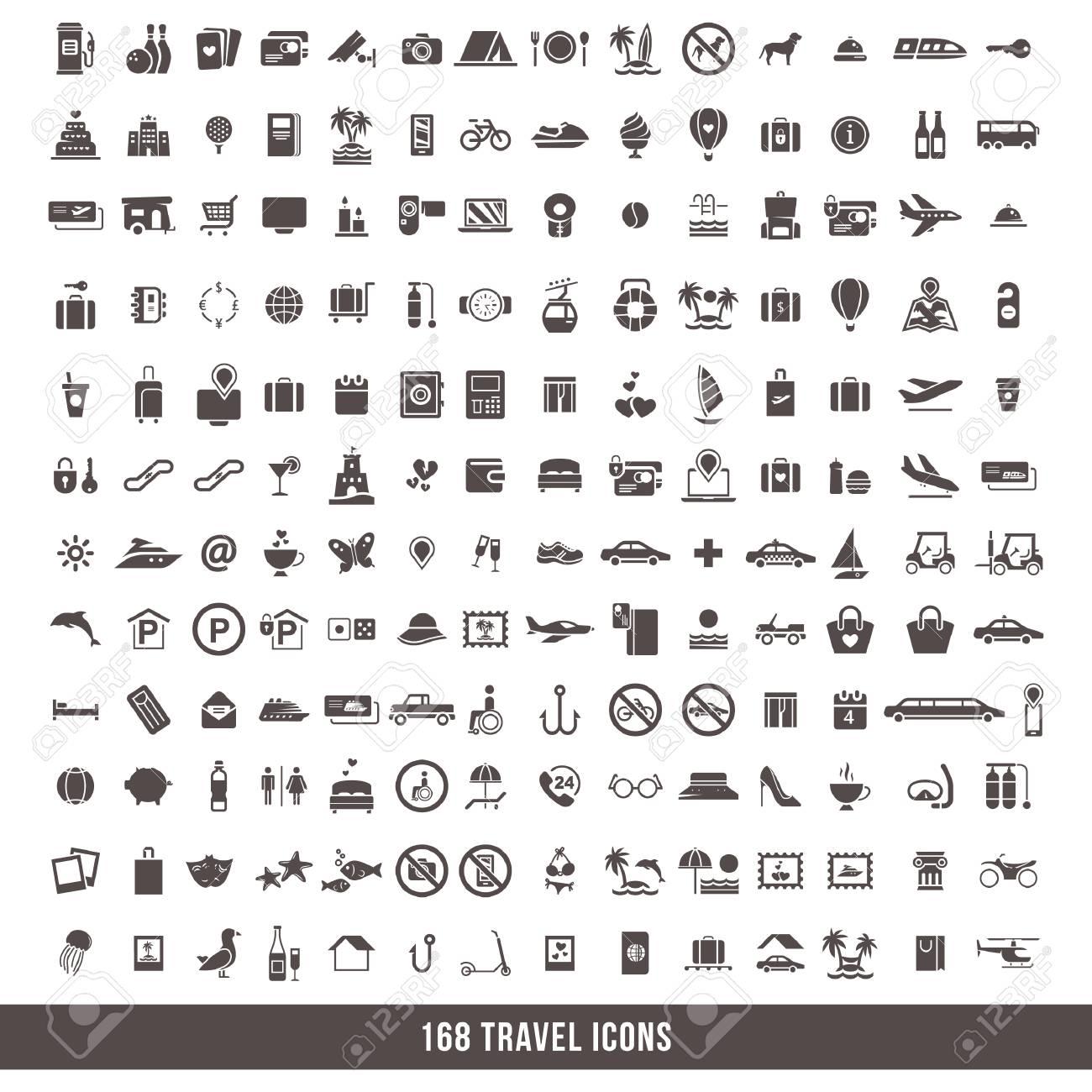 travel icon set - 106674689