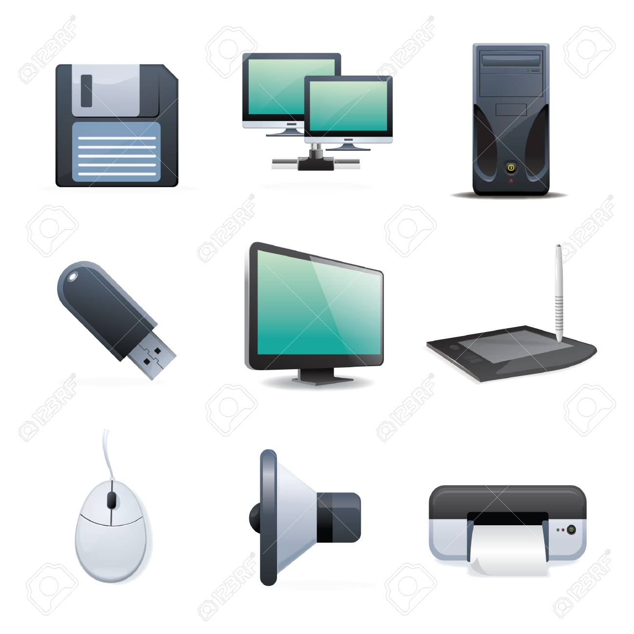 collection of digital device and machine - 106675045