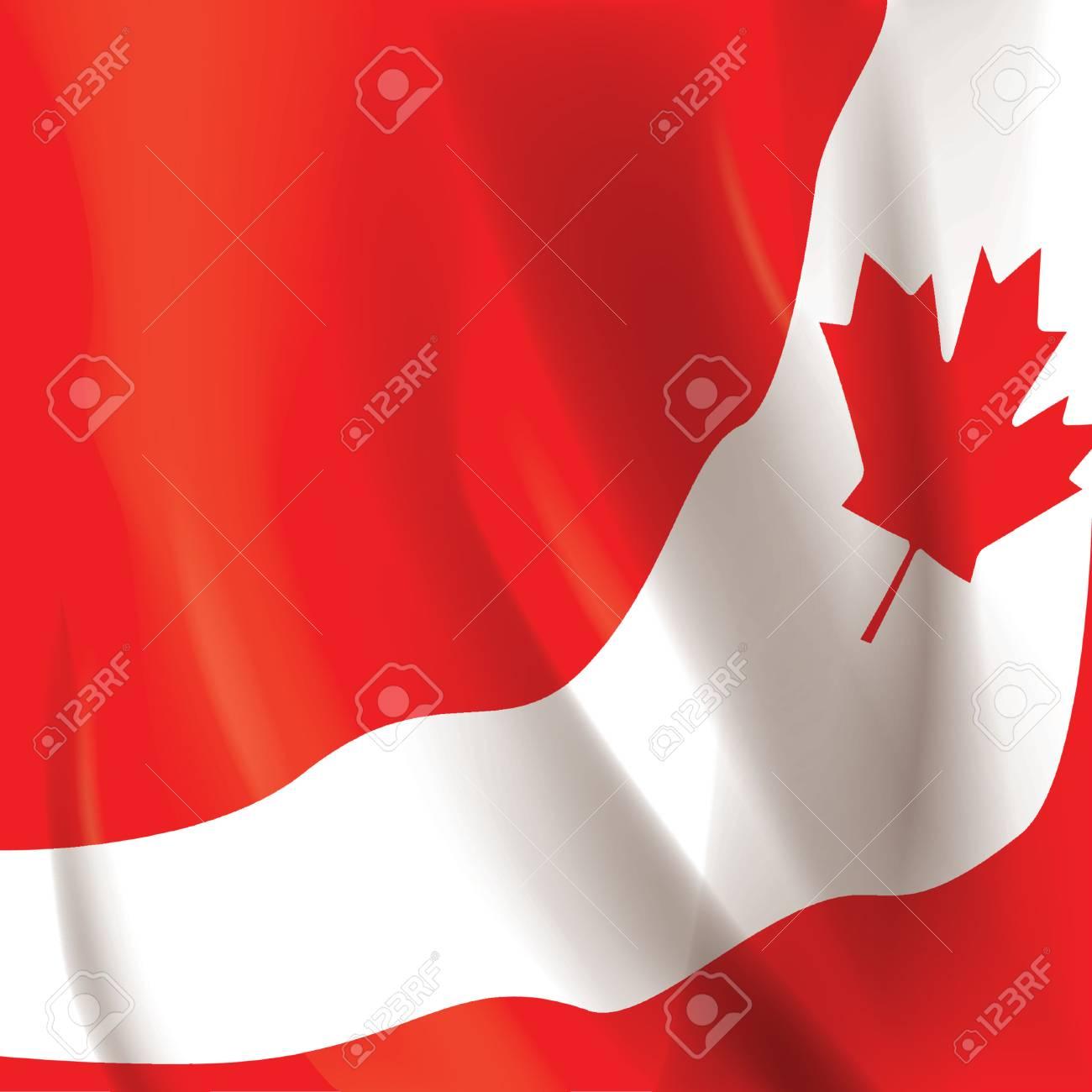 Canada Flag Wallpaper Design