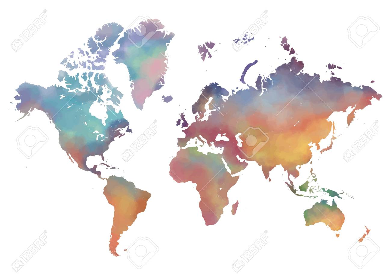 World map design royalty free cliparts vectors and stock world map design stock vector 73754783 gumiabroncs Image collections
