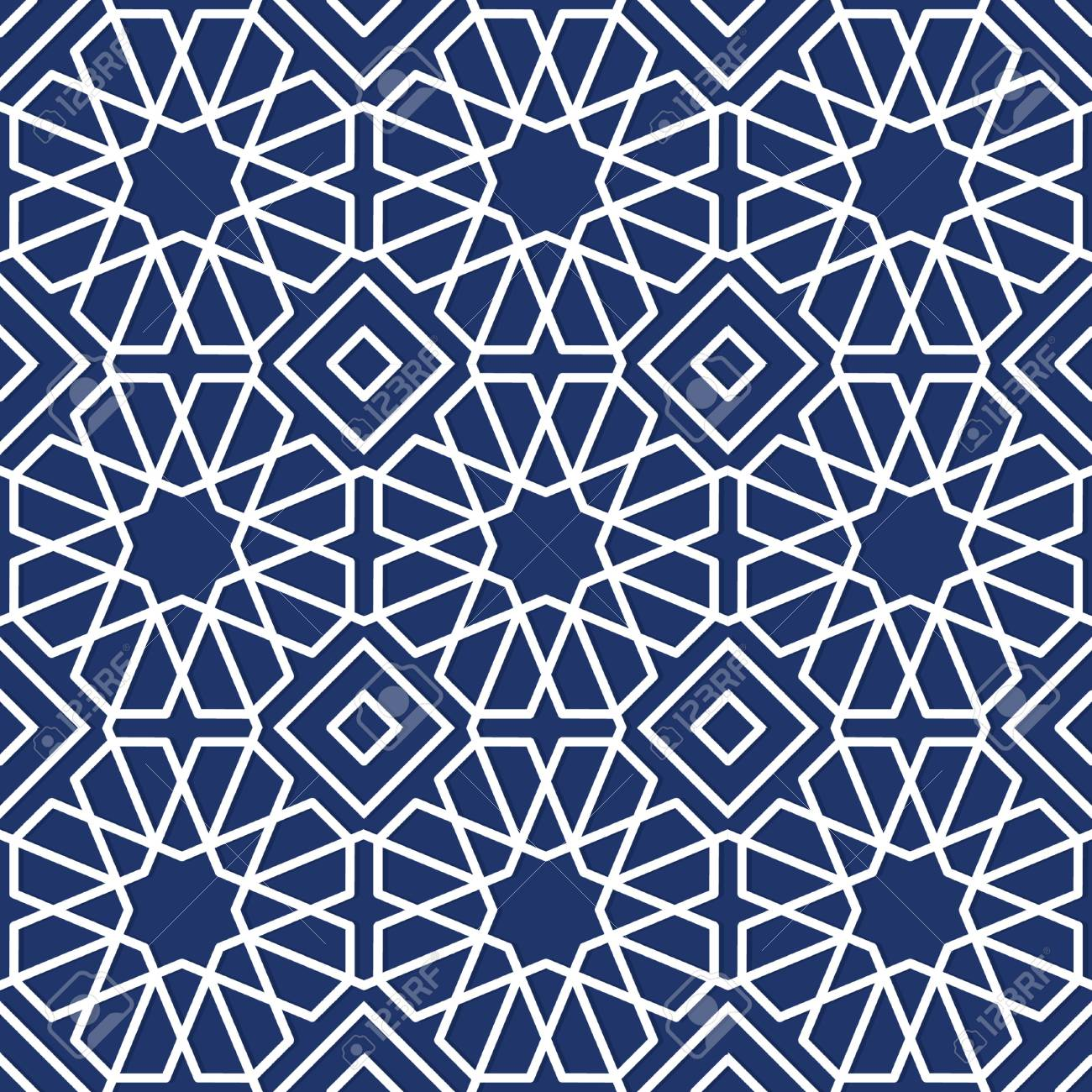islamic geometric pattern design