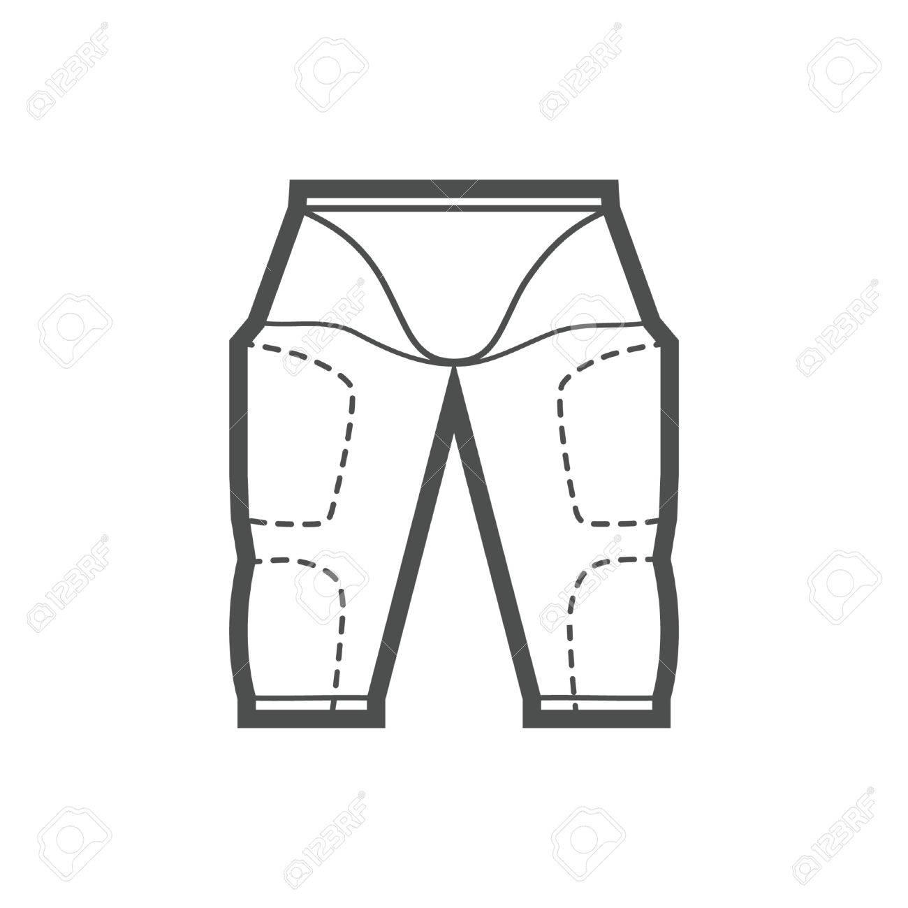 Pantalones De Futbol Americano Ilustraciones Vectoriales Clip Art Vectorizado Libre De Derechos Image 74130409