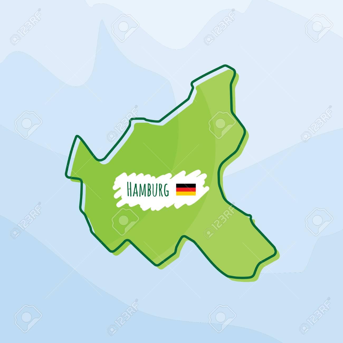 Map Of Germany Hamburg.Map Of Hamburg Germany