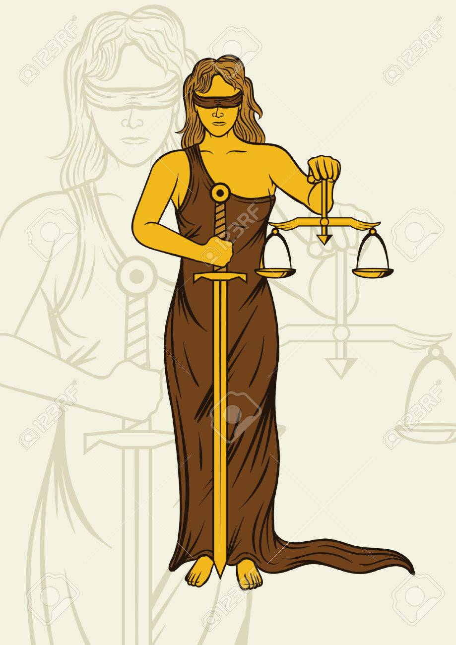 Lady justice statue royalty free cliparts vectors and stock lady justice statue stock vector 74784496 buycottarizona