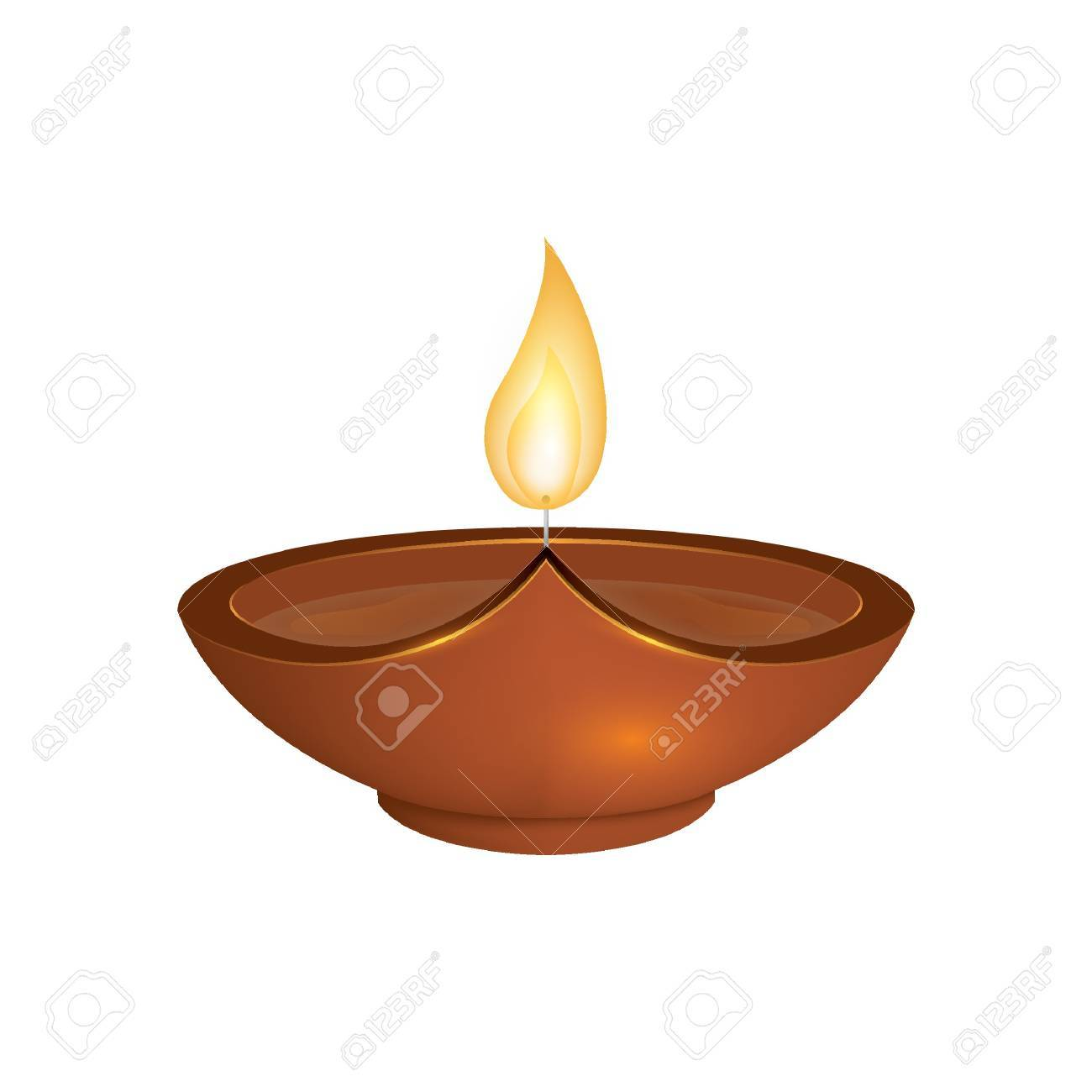 Diwali Lamp. Royalty Free Cliparts, Vectors, And Stock Illustration ... for diwali lamps clipart  56bof
