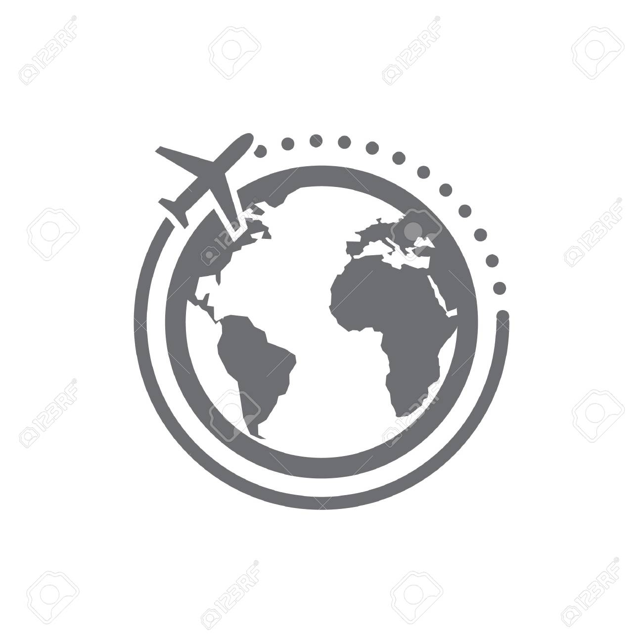 Vector - World tour icon