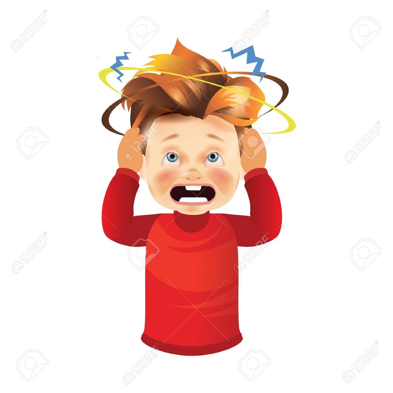 boy with headache - 79213366