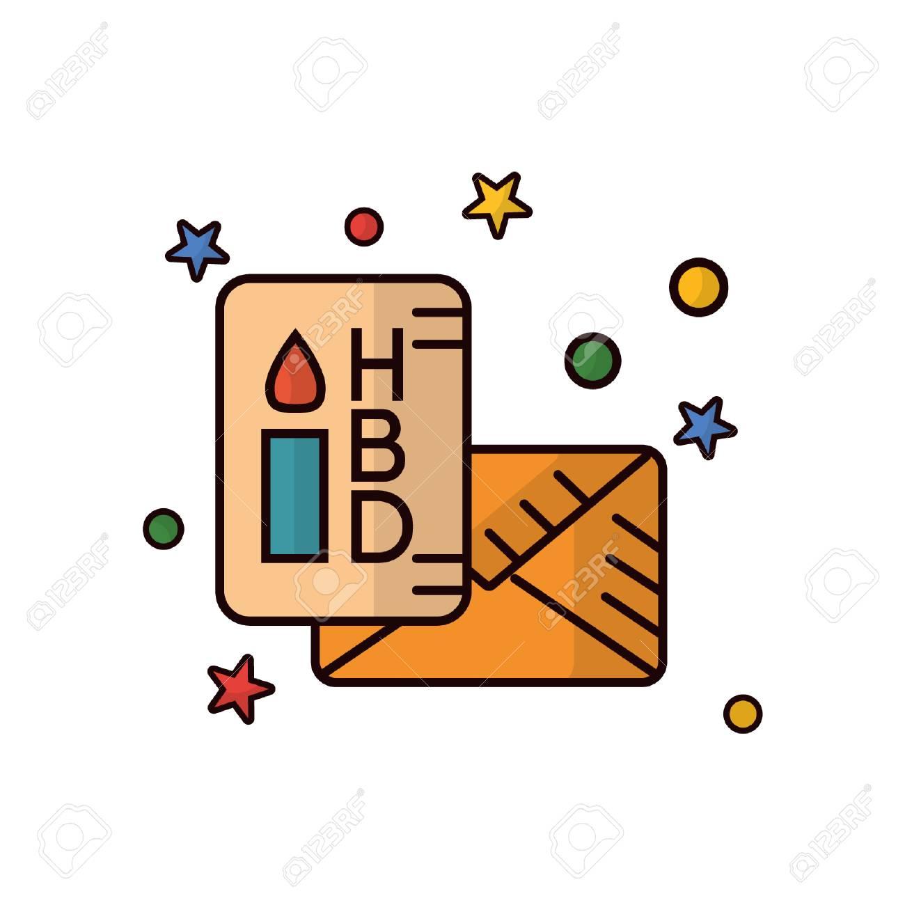 Birthday Card Clip Art Libres De Droits Vecteurs Et Illustration