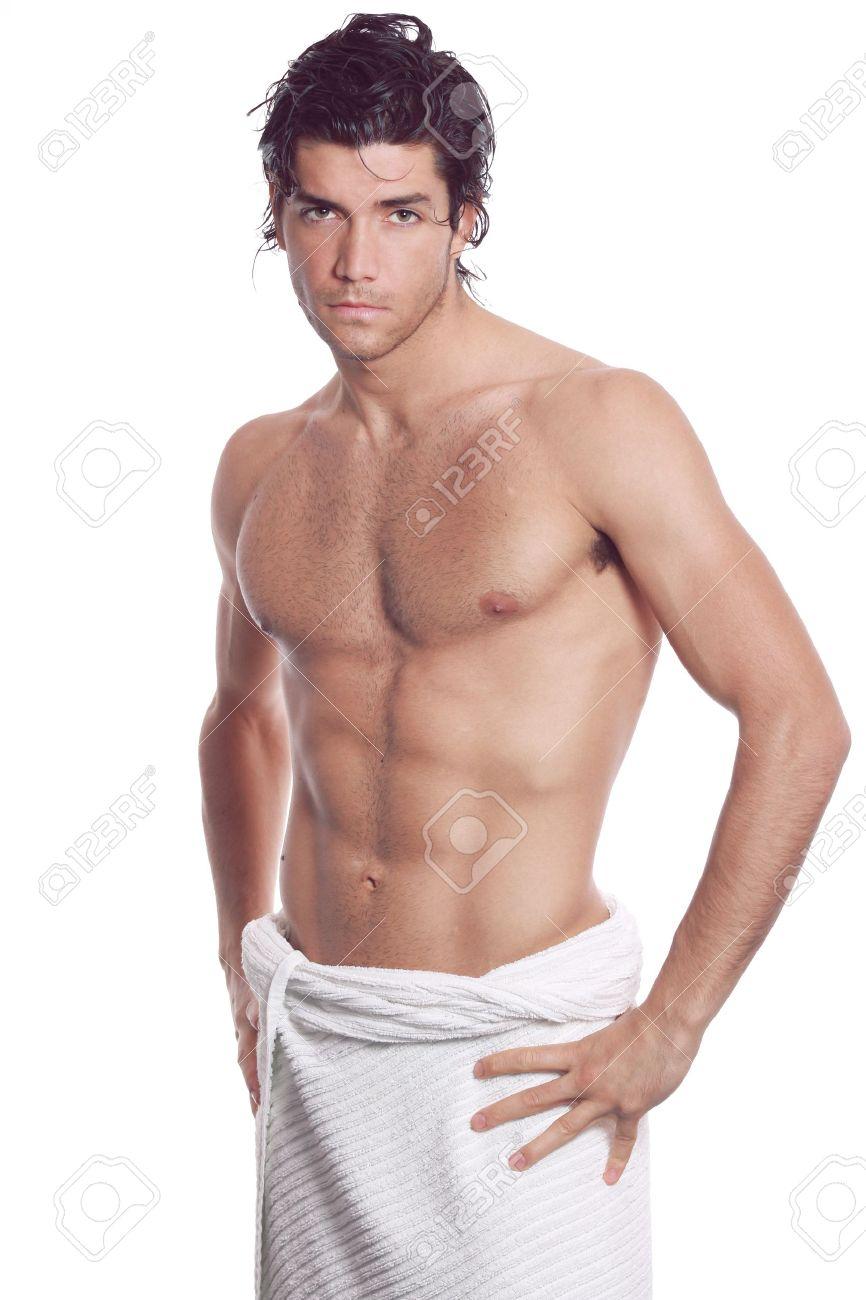 Смотреть мускулистый в полотенце на кровати 22 фотография