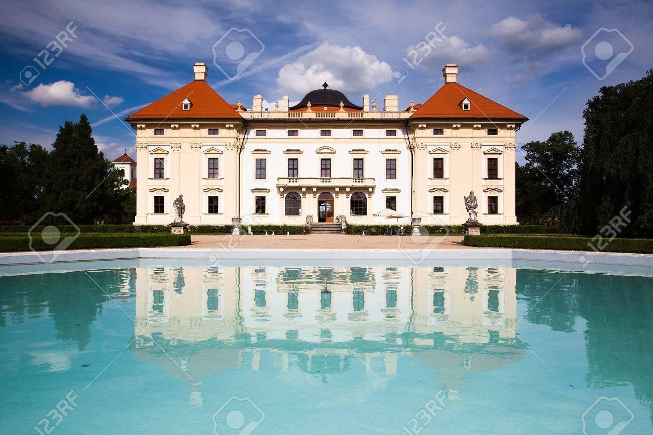 Castle in Slavkov - Austerlitz near Brno, Czech Republic  Stock Photo - 14340745