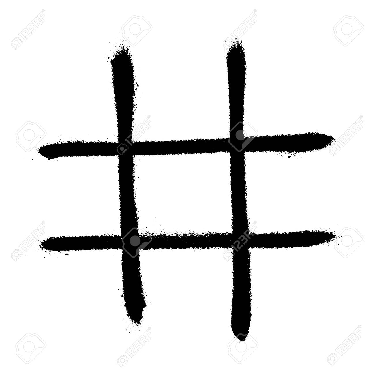 Vector Hand Drawn Noughts And Crosses, Tic-tac-toe Competition Within Tic Tac Toe Template Word