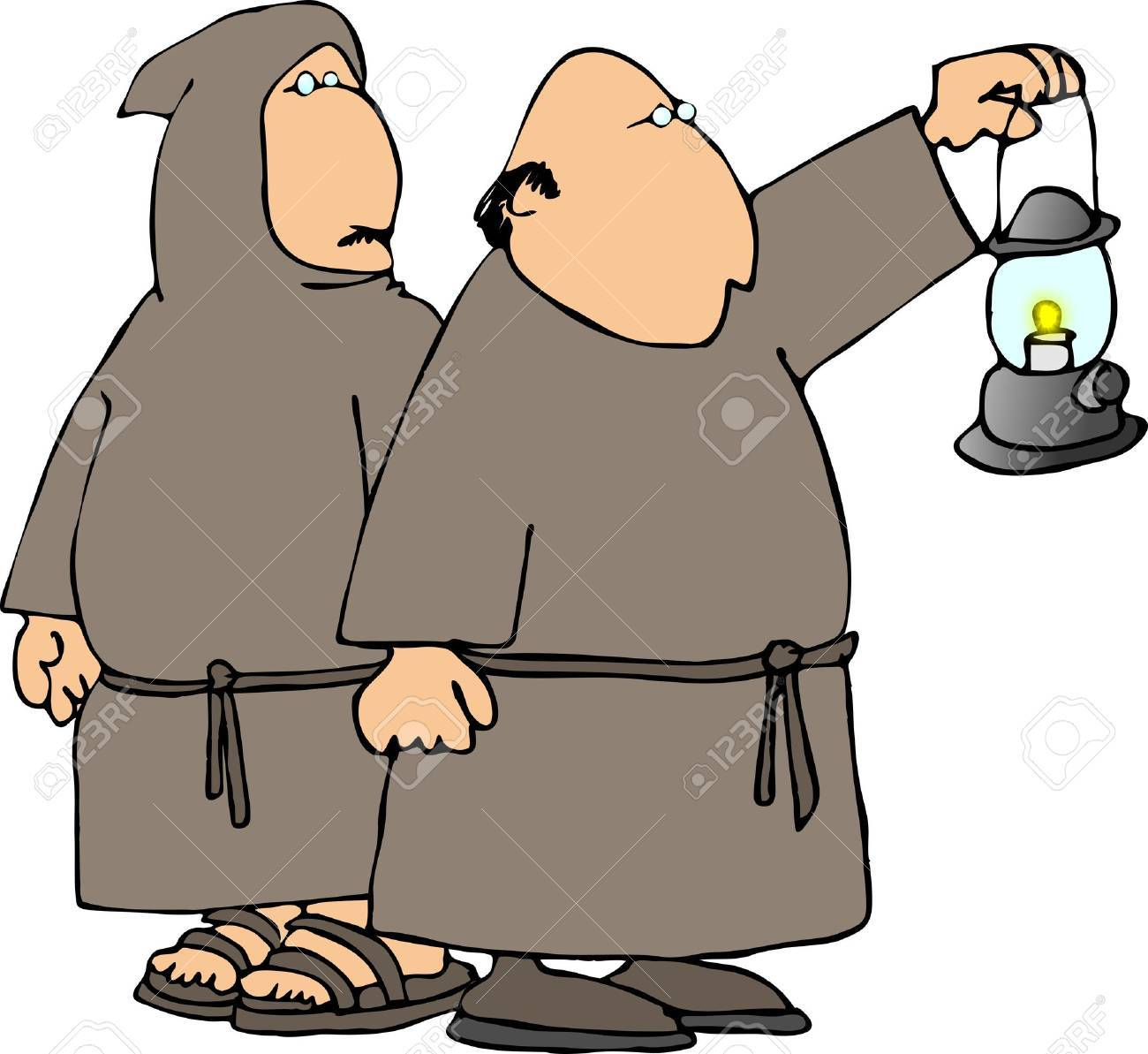 Two monks Stock Photo - 401515