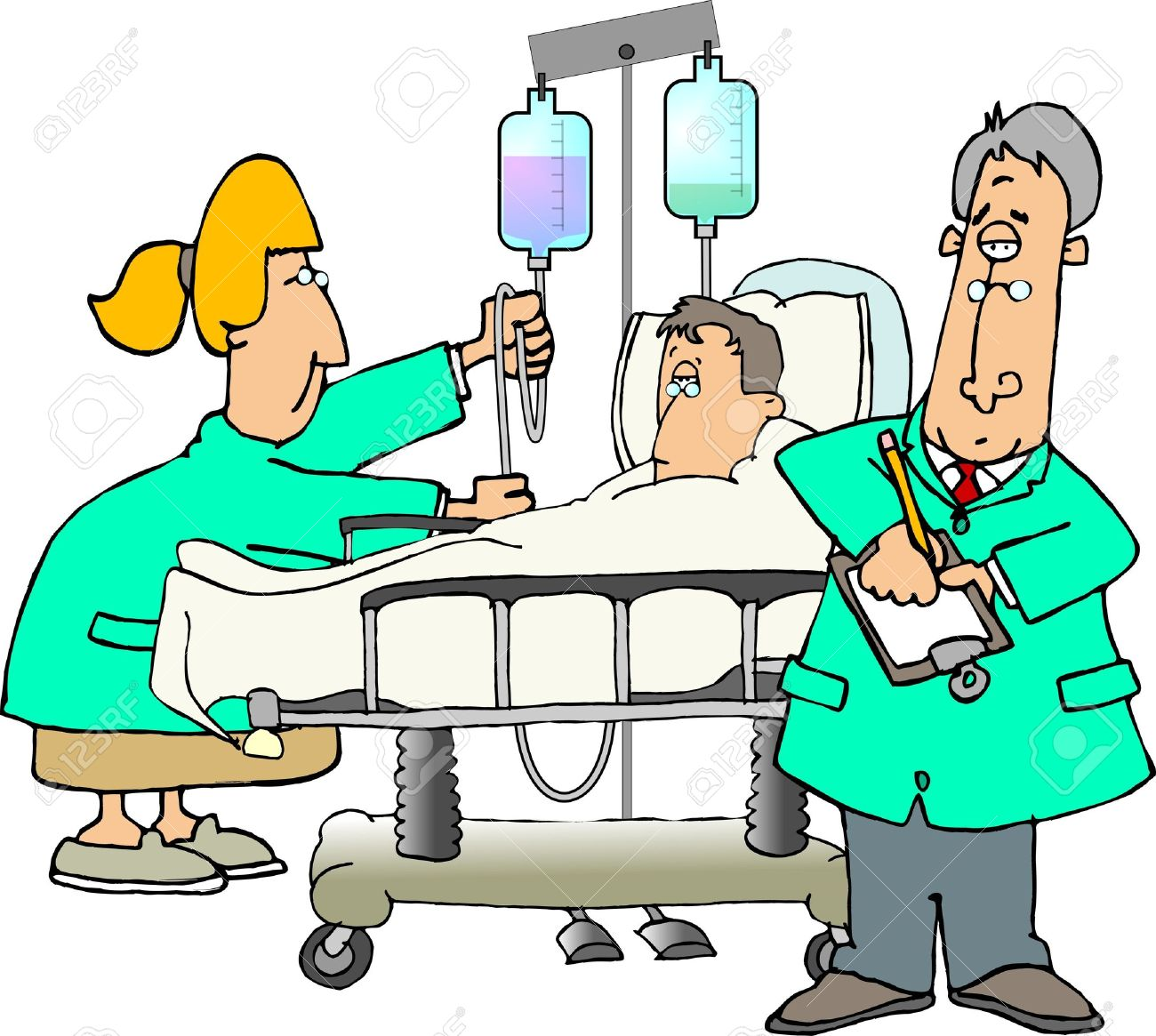 Patient and doctors Stock Photo - 376138
