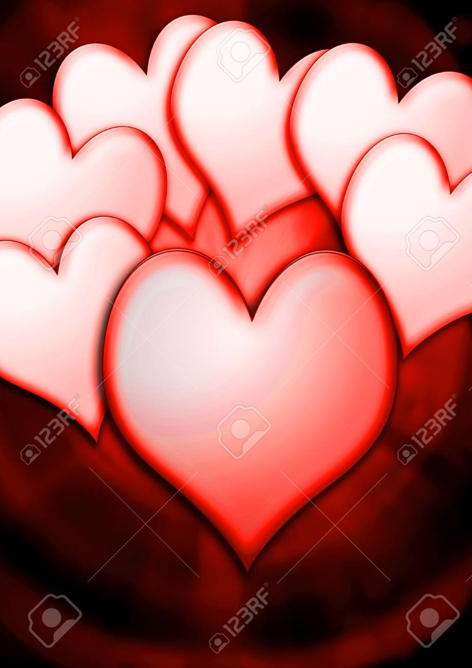 heart background Stock Photo - 919582