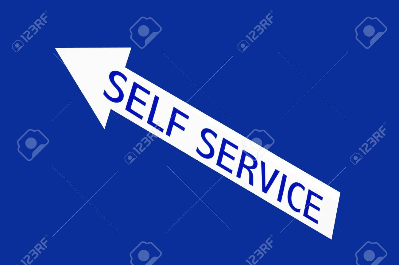 self service Stock Photo - 9180468