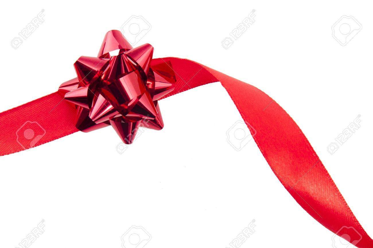 cinta y corbata para los regalos de navidad foto de archivo