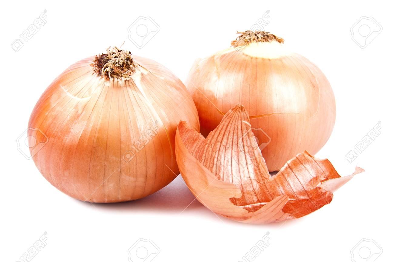 onion isolated on white background Stock Photo - 12598444