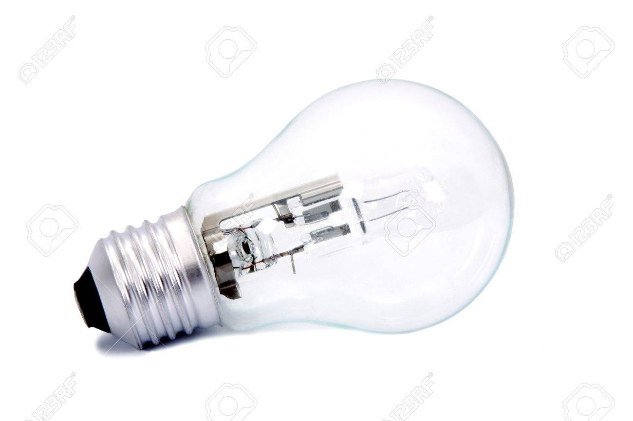 light bulb isolated on white background, household appliances and industry - 17311555