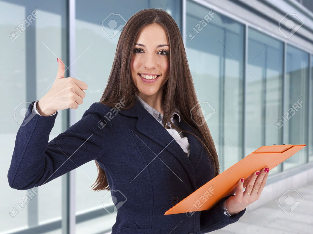 business woman in positive attitude, lifestyle - 39542702