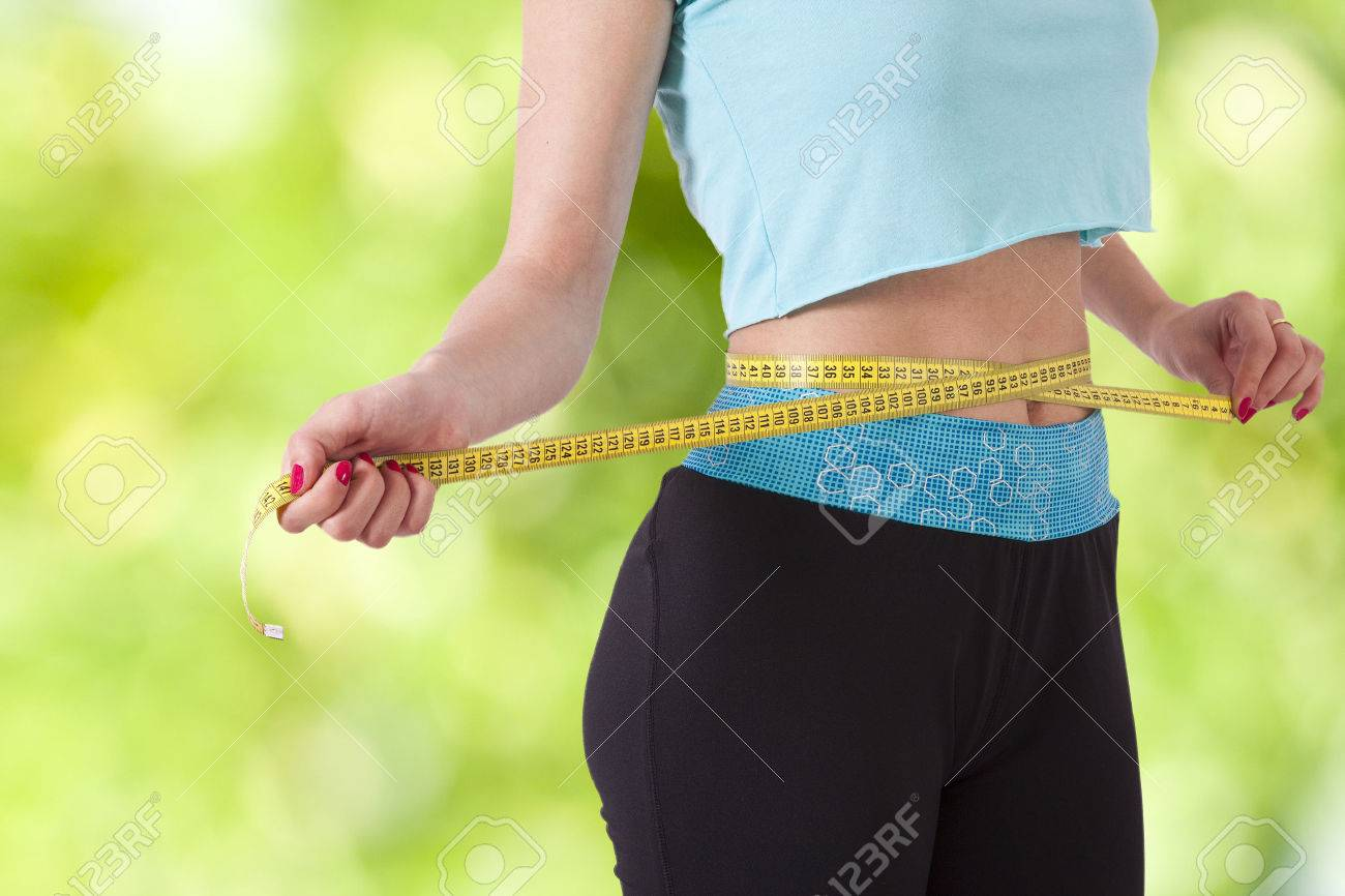 concept of losing weight with sport - 42905801
