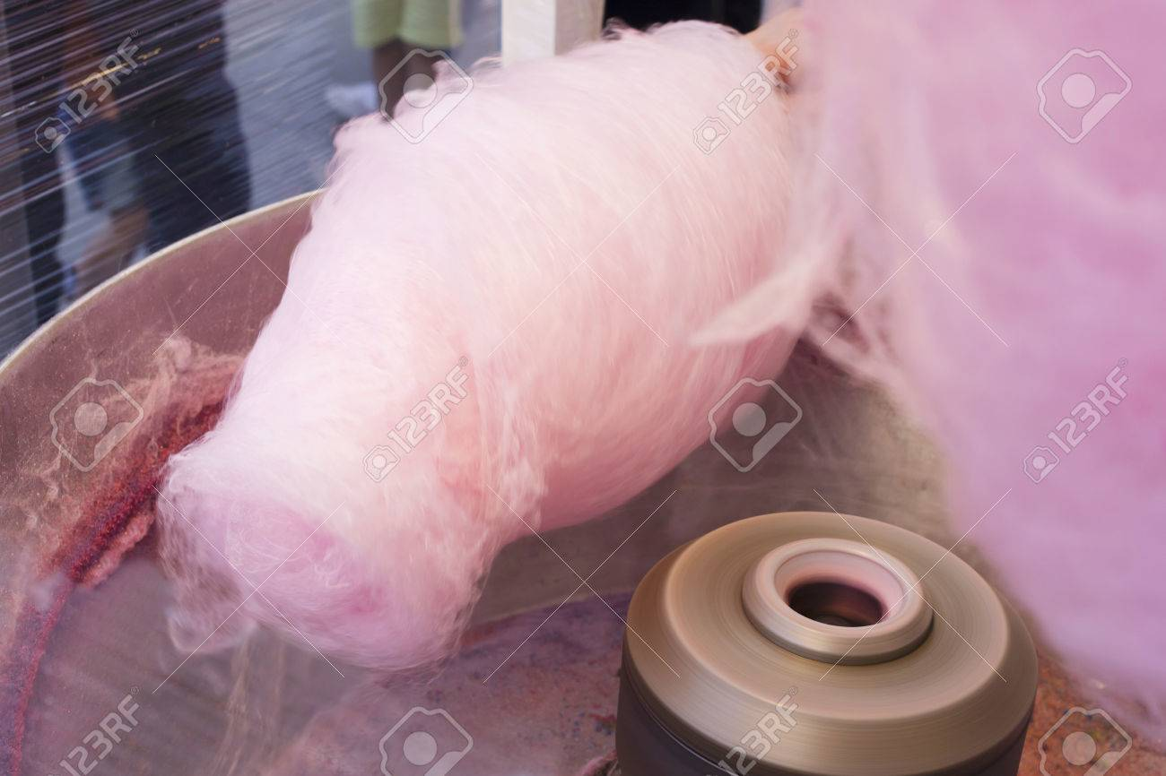 since making the cotton candy - 80554110