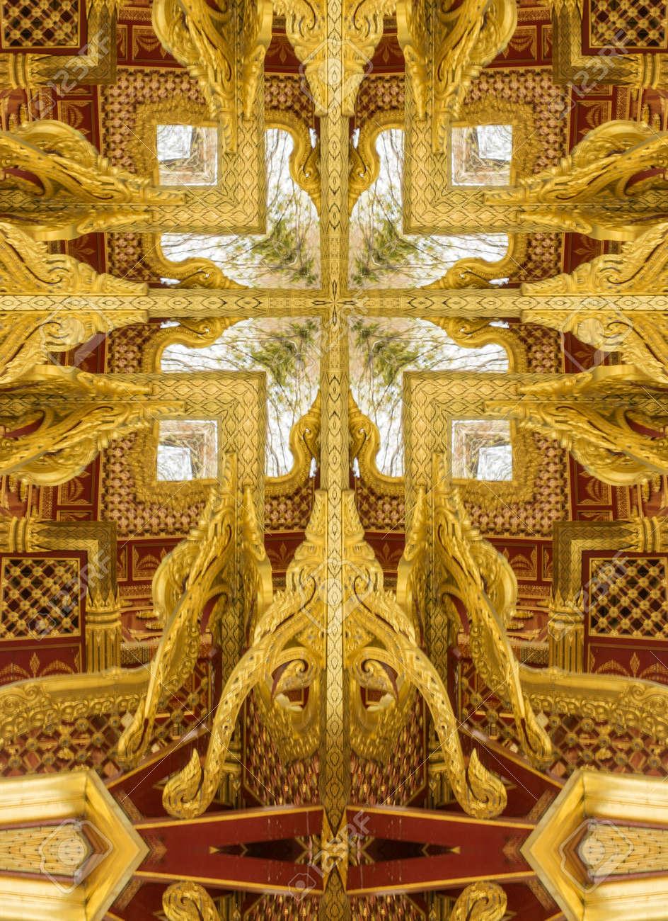 Garden Kaleidoscope At Olbrich >> Kaleidoscope Cross Gold Ceiling Detail Thai Pavilion Olbrich