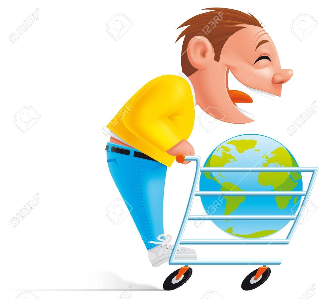 Shopping online Stock Photo - 11843199