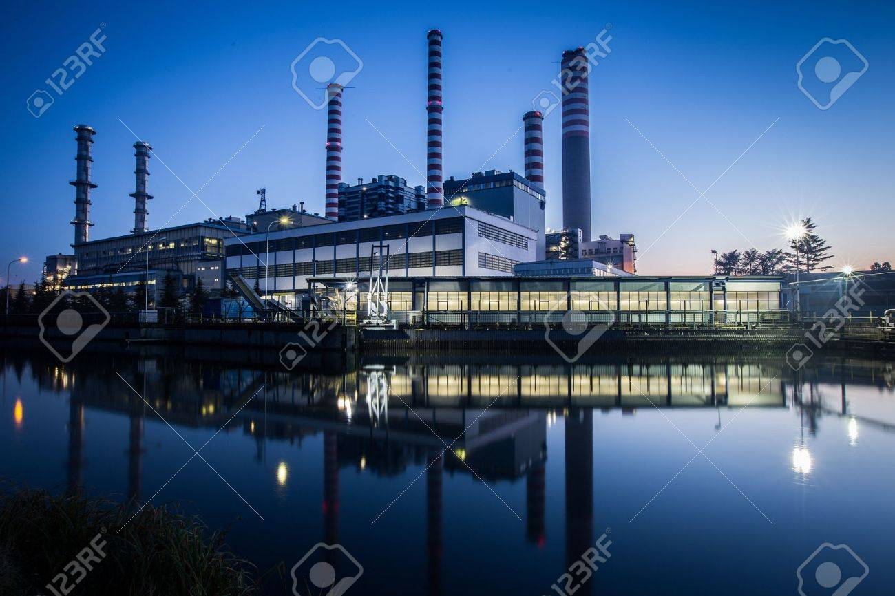 electric power plant - 28973342