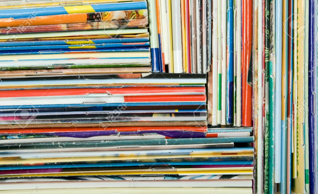 Composition of papers, magazines and others print works Stock Photo - 2607496