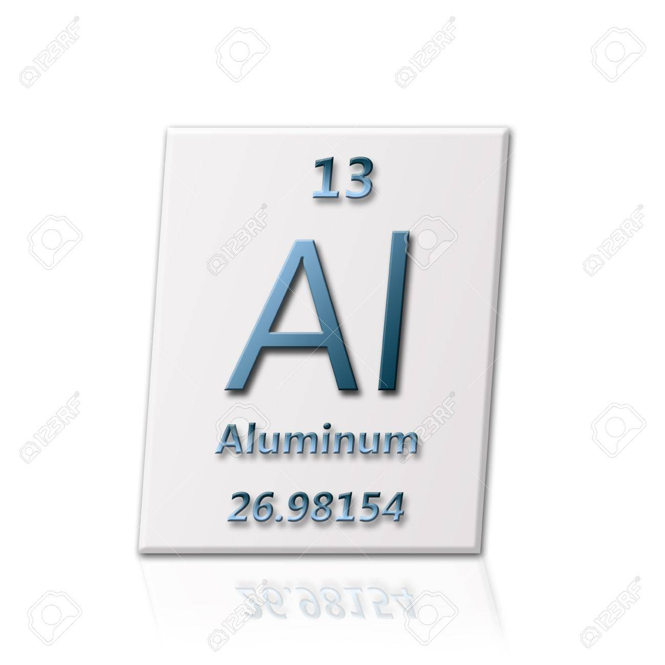 There Is A Chemical Element Aluminum With All Information About