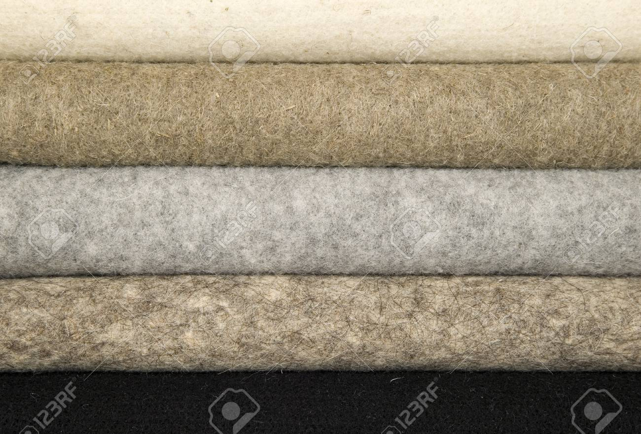 There is mixed wool materials for sewing Stock Photo - 12859563