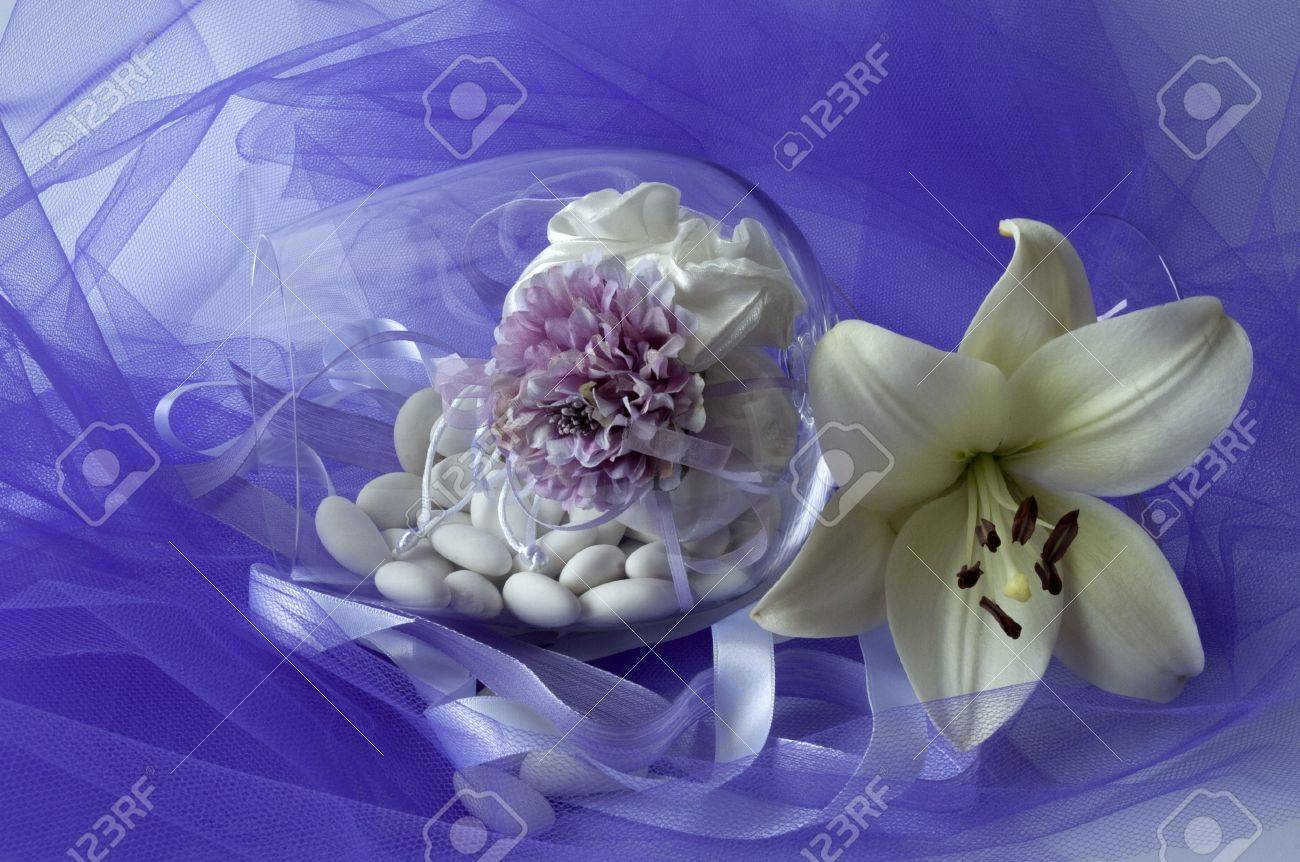 material to make favors for weddings, communions and baptisms Stock Photo - 7142861