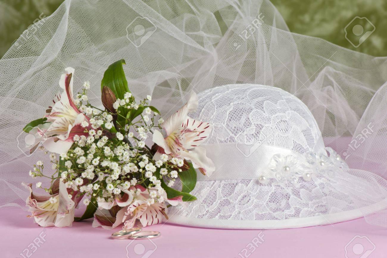 abbastanza Composizione Con Fiori E Bomboniere Per Matrimonio, Baptismand  WY72
