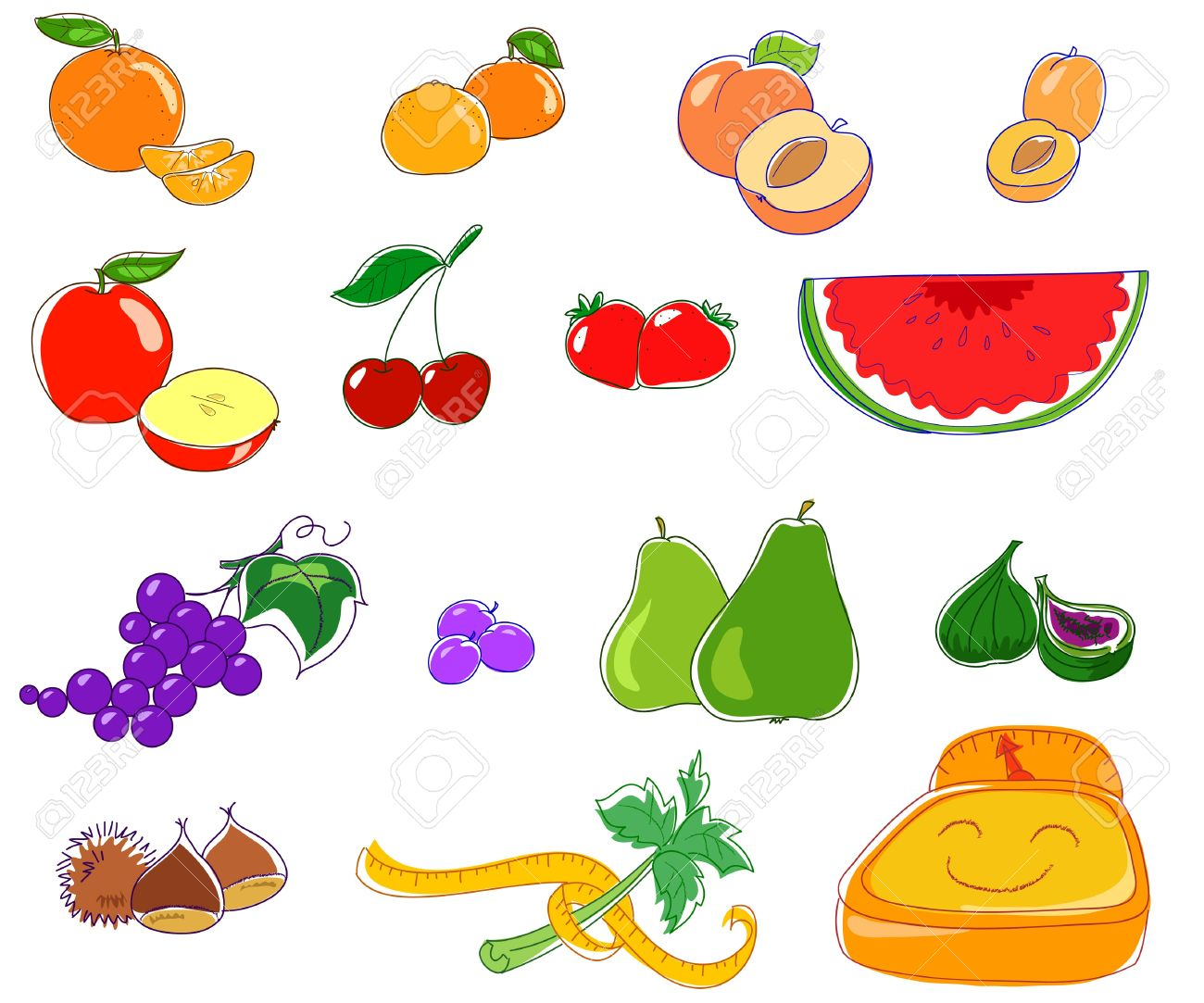 Food and good health - Good Food For A Good Health Vector Image Stock Vector