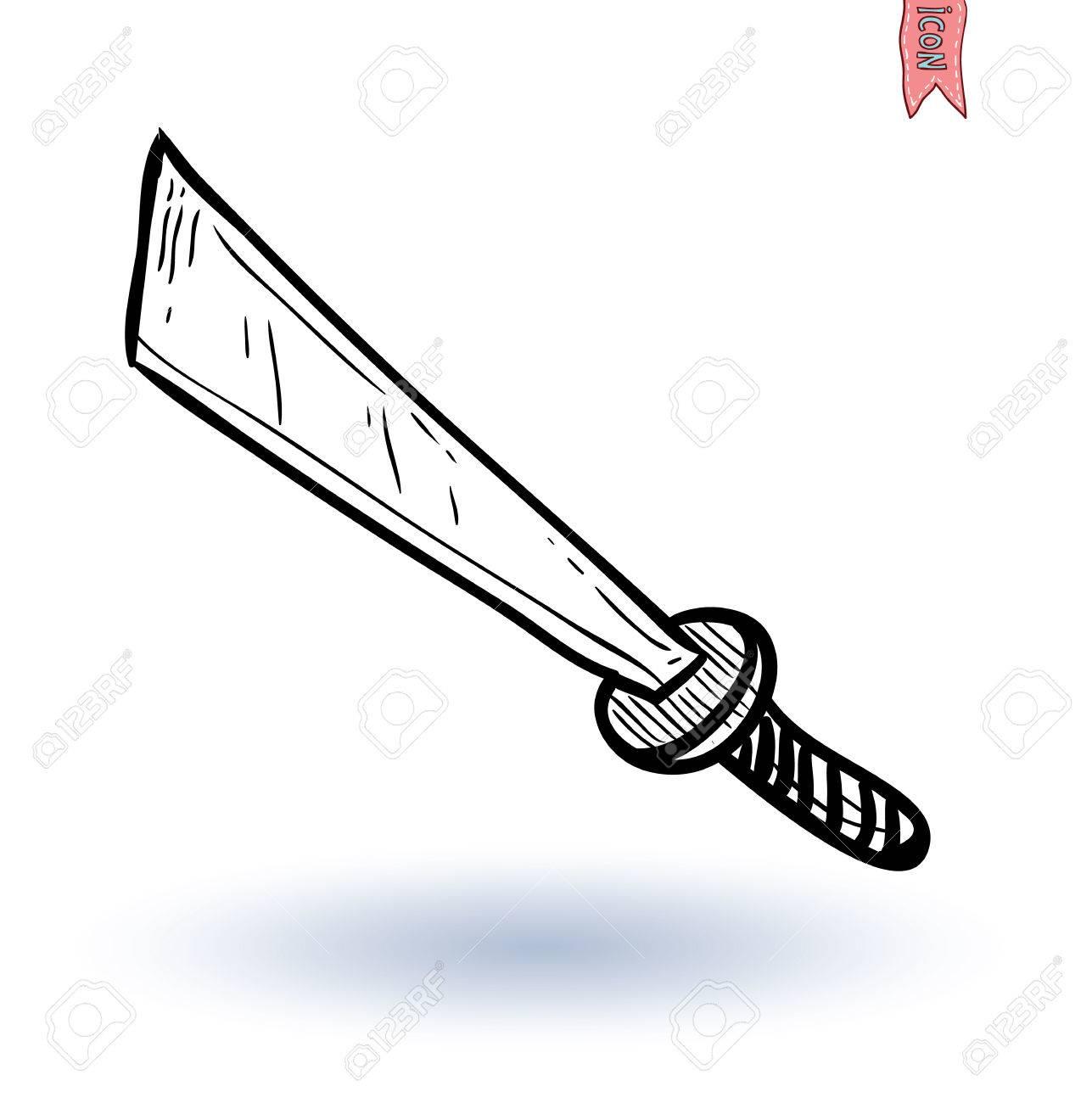 刀剣日本刀ベクトル イラストですのイラスト素材ベクタ Image