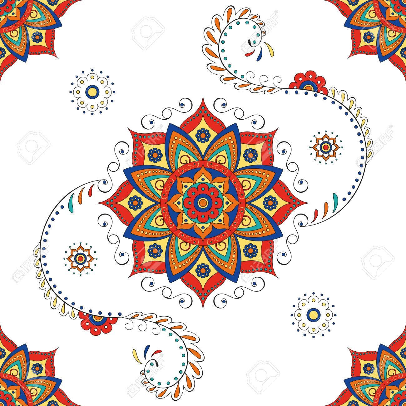 Hindu mandala lotus flower pattern royalty free cliparts vectors hindu mandala lotus flower pattern stock vector 40918093 izmirmasajfo