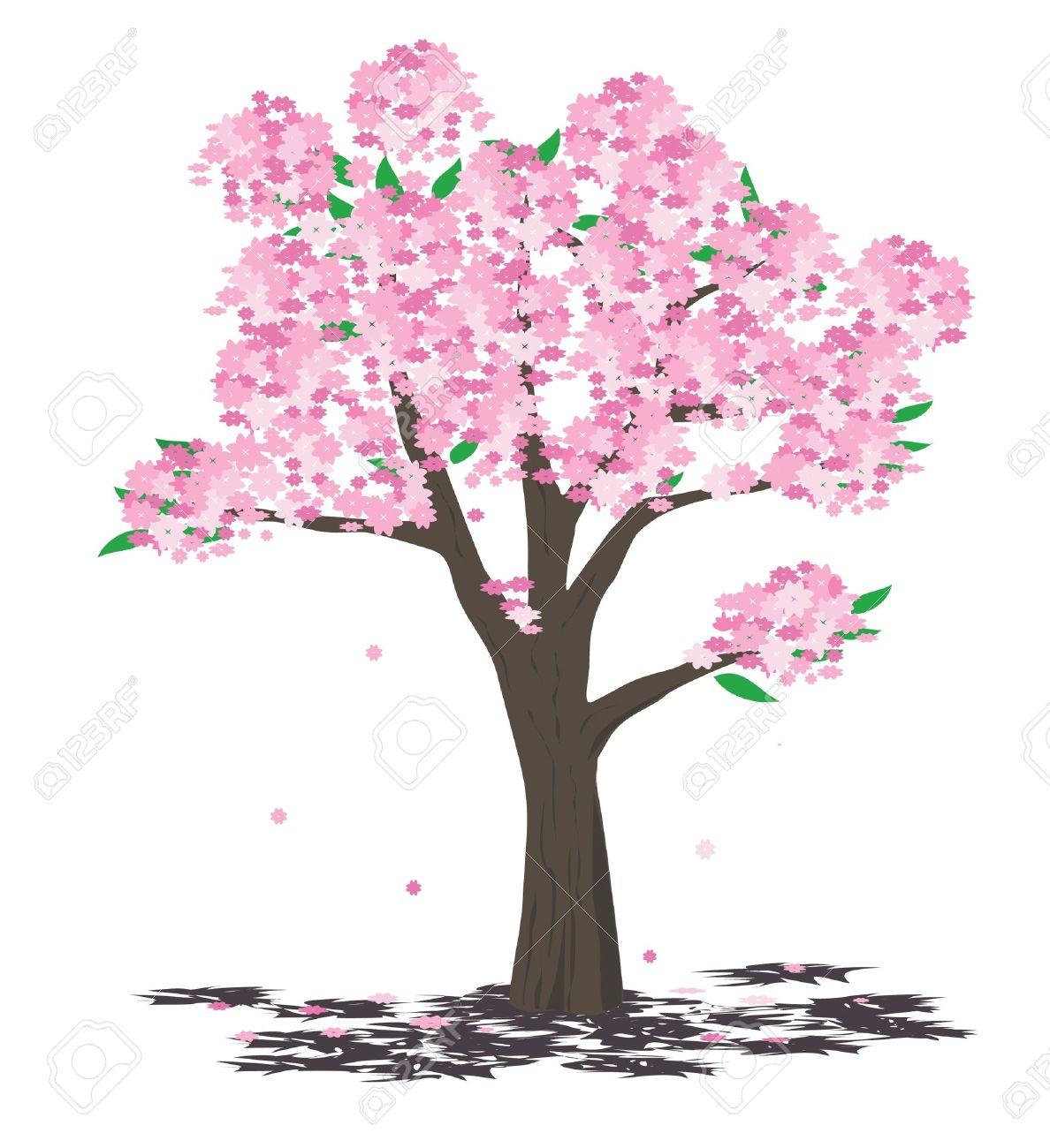 Tree illustration - spring Stock Vector - 11489266