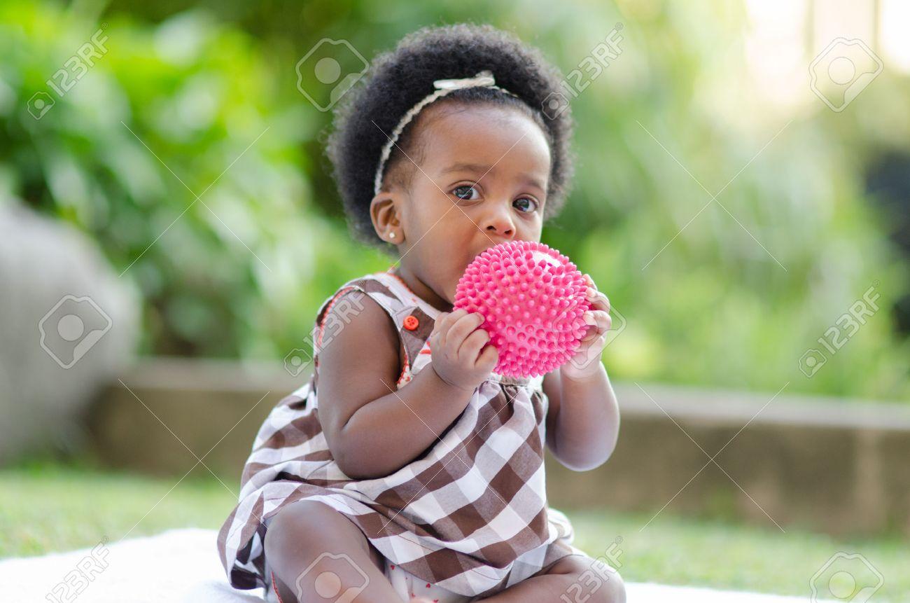 Cute african american