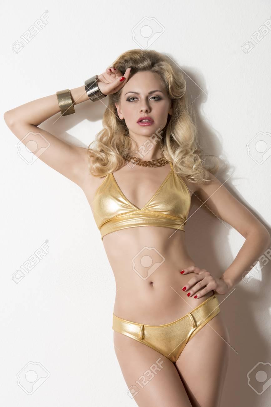 Sexy Blonde Girl Bikini