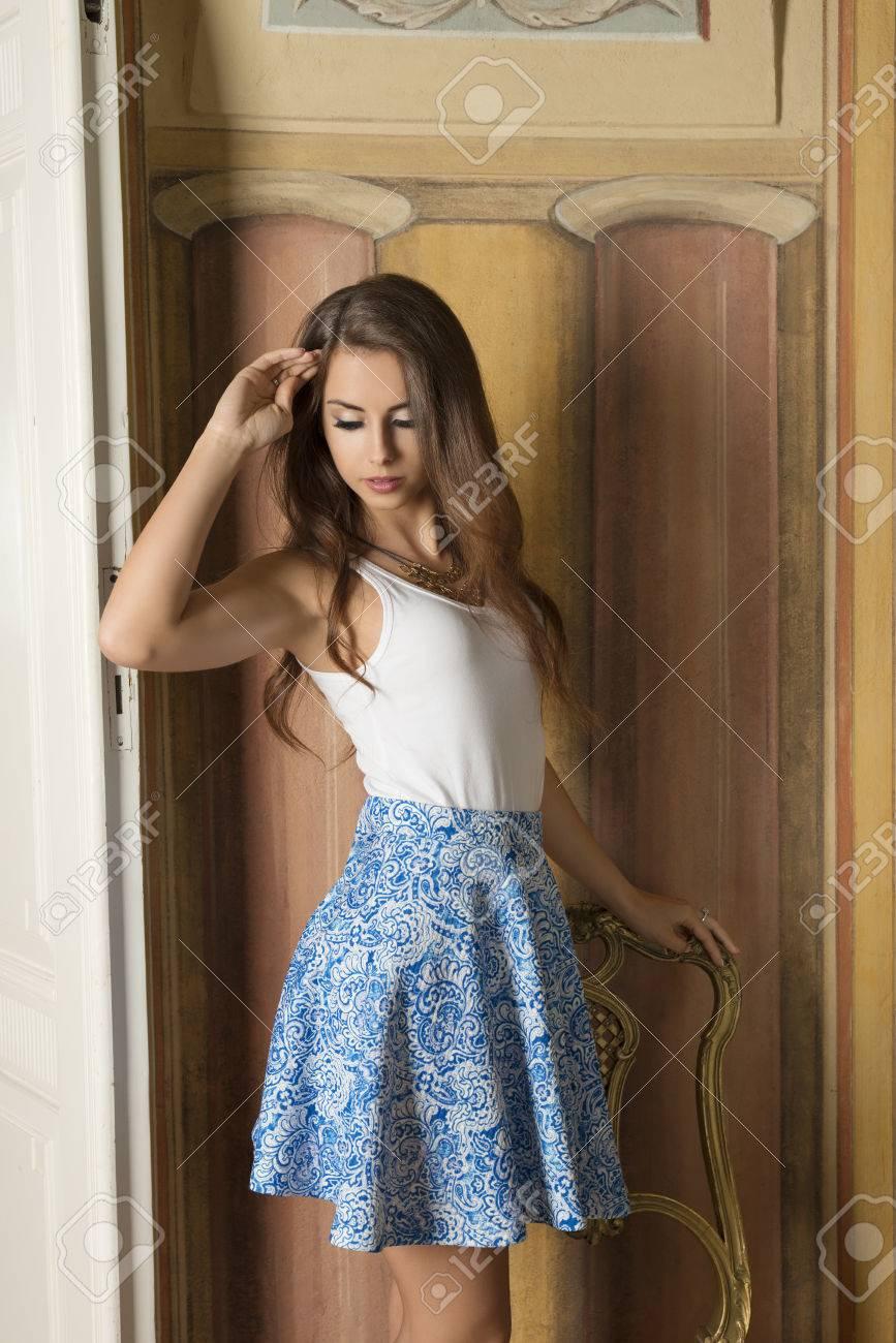 Lovely brunette